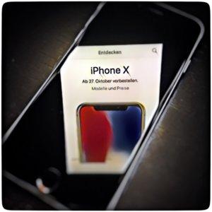 Apple iPhone X Vorbestellen
