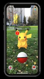 Apple AR+ Pokemon Go